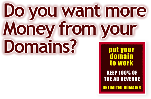 Do you want more money from your domains?